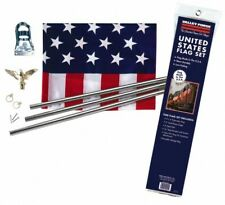 Valley Forge Flag Co Flag Poles & Kits; Type: Flag & Pole Kit; Mounting: Port.