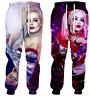3D print Cartoon Harley Quinn Casual MenWomen Jogger Trousers Fitness Sweatpants