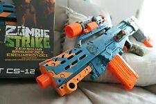 *NEU & OVP, limitiert!* Hasbro Nerf Zombie Strike Longshot CS-12 Dartblaster