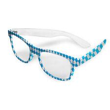 Partybrille Oktoberfest blau weiß Brille Bierglas Sonnenbrille Wiesn Scherz Gag