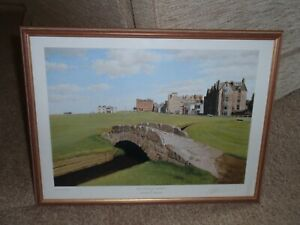 Old Course St Andrews 18th Hole, Scotland - Signed Graeme W Baxter - Print