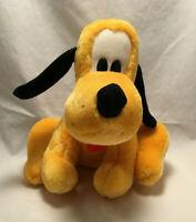 "Vintage Disneyland Disney World Mickey Mouse Pluto 9"" Plush - Stuffed Animal"