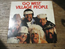 """EX  VILLAGE PEOPLE - Go West / Citizens of the world - 7"""" Single"""