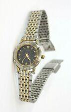 SWANSON Ladies/Womens Stainless Steel & Gold-Tone Watch #7N83-0040