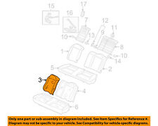 Honda Genuine 82121-SVA-A21ZC Seat Back Trim Cover Rear Right