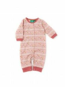 Little Green Radicals Organic Playsuit all in one Lollipop  0 3 6 9 12 18 24 LGR