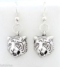 Tiger Head I Tiger Earrings