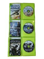 Lot of 3 XBox 360 Games, Medal of Honor, Blacksite Area. 51, Blazing Angels 2