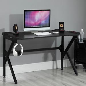 Large Gaming Desk Ergonomic Home Office Study Gamer Workstation Computer Table
