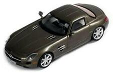 MERCEDES BENZ SLS AMG COUPE 2010 MATT BROWN IXO MOC124 1/43 LEFT HAND DRIVE LHD