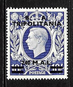 Tripolitania .. 240L on 10/- mint postage stamp .. 6862