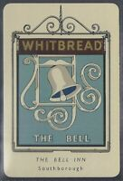 WHITBREAD-INN SIGNS 2ND (METAL)1950-#13- THE BELL INN - SOUTHBOROUGH