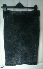 Unbranded Denim Straight, Pencil Casual Skirts for Women