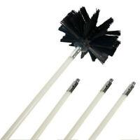 Flexible Cheminée Nettoyant Brosse Rotatif Sweep Kits Canne Diamètre 4