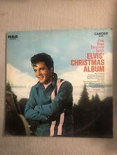 "Elvis Presley Christmas Album Lp Vinyl Record 1970 Rock Blues 12"""