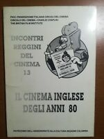 Il cinema inglese degli anni 80 - AA.VV - FICC - 1987 -  M