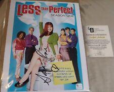 Sara Rue Autograph COA Less Than Perfect C.O.A. Authentic Proof RARE 8 X10