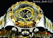 Invicta Reserve 52mm Excursion Touring SHARK Gray Swiss ETA Chrono SS Diver Watc