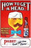Pabst Blue Ribbon Beer  Advertisement Poster Print