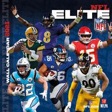 Nfl Calendar 2021 Elite Stars Wall Calendar 30x30 Football