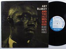 ART BLAKEY & THE JAZZ MESSENGERS Self Titled BLUE NOTE 4003 LP VG+ mono NY >