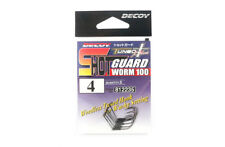 Decoy Worm 100 Shot Guard Weedless Worm Hook for Wacky Style Size 4 (2235)