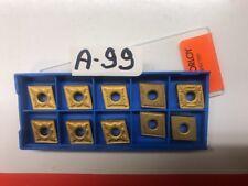 CNMG 431(4pcs)432(5pcs),433(1pc)Grades: Kc850,NC3030 KORLOY/KENNAMETAL TOT. 10pc