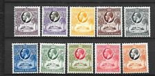 GOLD COAST Sc 98-107 LH ISSUE OF 1928 - GOOD OLD SET. Sc$142