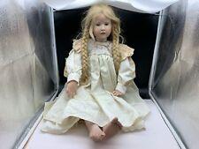 Hildegard Günzel Wax Over Porcelain Doll 76 Cm. Very Seltene / See Photos