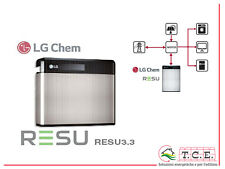 Batteria litio 3.3 kWh LG CHEM Resu accumulation storage fotovoltaico