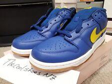 NEW 2005 Nike SB Zoom Dunk Low ROYAL BLUE LIGHTNING YELLOW WHITE 304292-471 SZ10