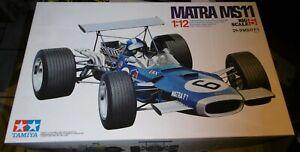 Tamiya 1/12 F1 Matra Ms11 Racing Car 1969 1st Edt SUPER RARE 12005 Big Scale 5