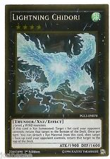 Lightning Chidori PGL3-EN070 Gold Rare Yu-gi-oh Card 1st Edition New