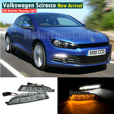 Luci Diurne LED Daytime DRL Per VW Scirocco 2008 2009 2010 2011 2012 2013 2014