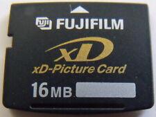 Fujifilm 16MB xD-Picture Card for Fuji & Olympus Digital Cameras, Japan, DPC-16