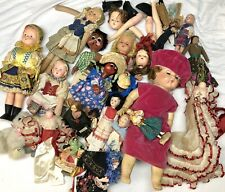 New listing Huge Lot Of Over 20 Vintage Antique Dolls And Parts