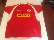 Kettering Town 2004-05 Replica Home Shirt Original Hand Signed By Steffan Morley