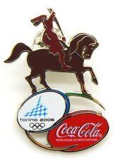 Pin Spilla Olimpiadi Torino 2006 - Coca-Cola Caval 'D Brons