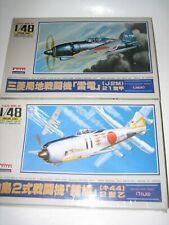 VTG ARII TOJO SHOKI & JACK RAIDEN MADE IN JAPAN AIRPLANE 1/48 SCALE MODEL KIT