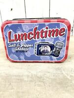 Elvis Presley Lunchtime Salt and Pepper Shakers Collectible Lunchbox Graceland