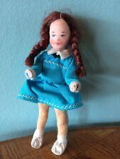 Mädchen Erna Meyer 50er 60er Puppe Puppenstube Puppenhaus 1:12 dollhouse doll