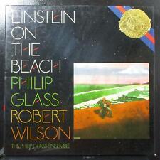 Philip Glass Wilson - Einstein On The Beach Mint- 4 LP box CBS M4 38875 Holland