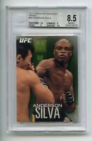 2012 Topps UFC Knockout #85 Anderson Silva 60/88  Beckett Graded Near Mint