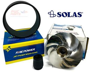 SeaDoo GTX 4-TEC 155 2002-2003 Wear Ring & SOLAS Impeller SR-CD-11/19A 20-35031