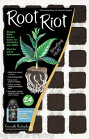 Root Riot Plant Starter Propagation Cubes 24 Tray - Cuttings and Seedlings