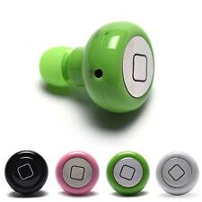 1x Super Mini Wireless Earphone Handsfree Bluetooth Headset Handphone For iPhone