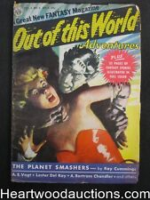 """""""Out of this World"""" July 1950  #1 Full  Color Joe Kubert Zgolden age Comics"""