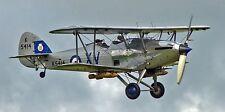 Hawker Hind Inter-War RAF Light Bomber Aircraft Mahogany Wood Model Small New