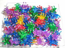 Mini STAR Cute Plastic Red Blue Green Hair Snap Claw Styling Lot of 288 Clips