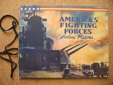 1942 Dixie Lid Premiums Comp Set 24 w/ Cover America's Fighting Forces Keep 'Em*
